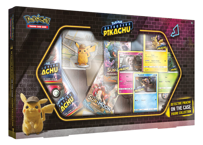 Pokemon - Detective Pikachu On the Case Figure Collection - Pokemon TCG - The Hooded Goblin