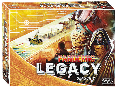 Pandemic Legacy: Season 2, Yellow Edition