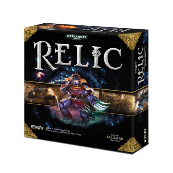 Warhammer 40K: Relic The Board Game (Premium Edition) - Board Game - The Hooded Goblin
