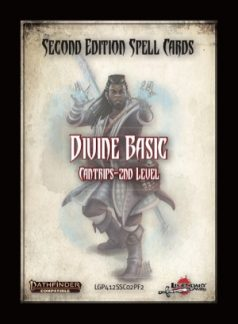 Pathfinder Second Edition Spell Cards (Divine) - Roleplaying Games - The Hooded Goblin