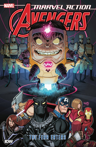 MARVEL ACTION AVENGERS BOOK 03 THE FEAR EATERS