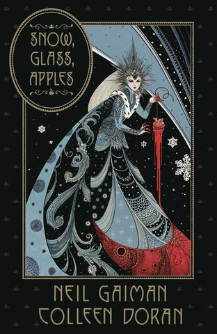 SNOW GLASS APPLES HARD COVER BY NEIL GAIMAN AND COLLEEN DORAN