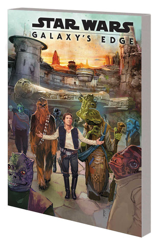 STAR WARS GALAXYS EDGE GRAPHIC NOVEL