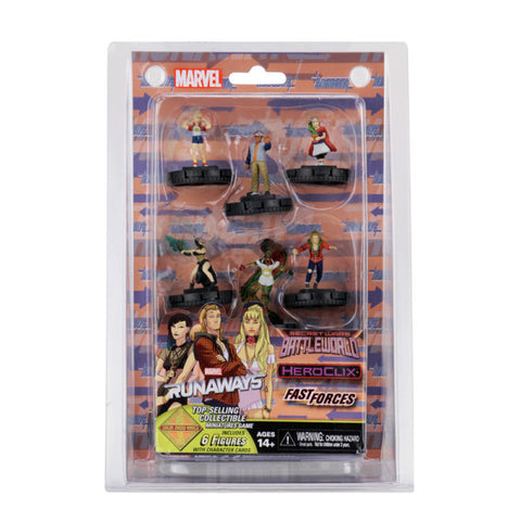 Marvel HeroClix: Secret Wars Battleworld Fast Forces (The Runaways) Pack