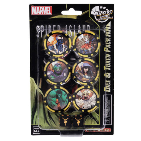 Marvel HeroClix: Secret Wars – Battleworld Dice and Token Pack