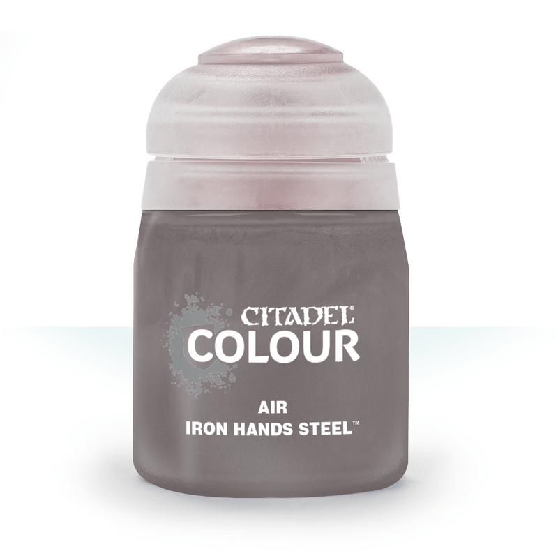 AIR: IRON HANDS STEEL (24ML) - Citadel Painting Supplies - The Hooded Goblin