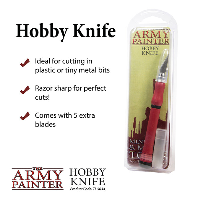 Army Painter: Precision Hobby Knife - Hobby Supplies - The Hooded Goblin