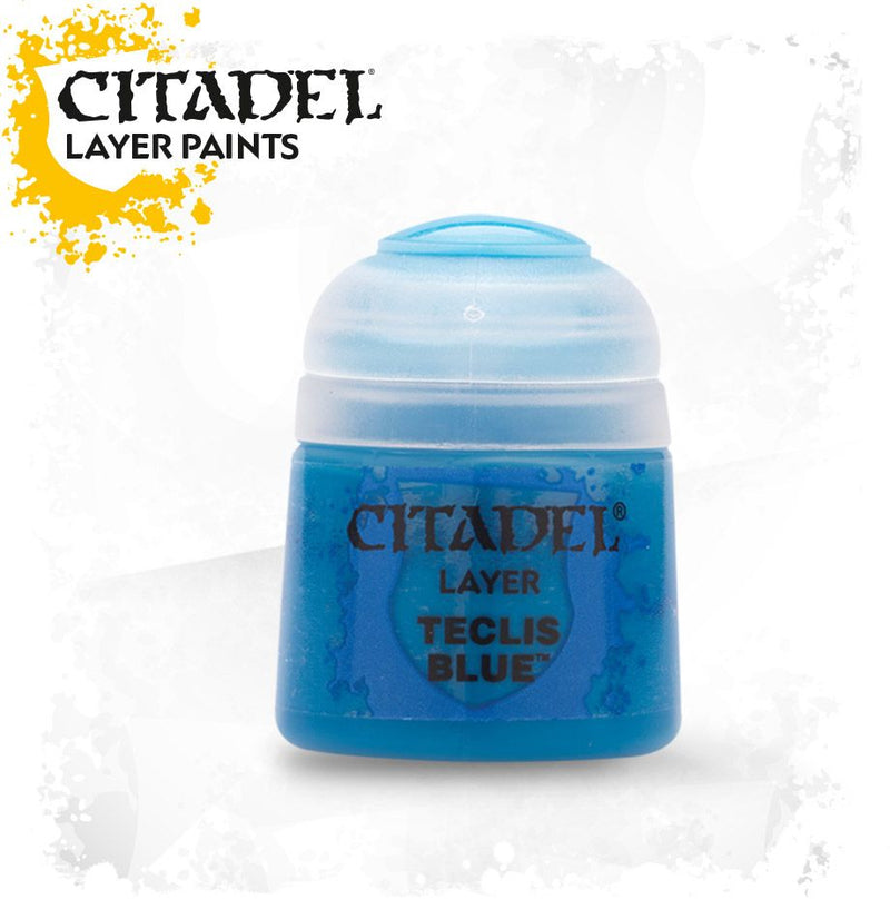 Citadel Layer: Teclis Blue - Citadel Painting Supplies - The Hooded Goblin