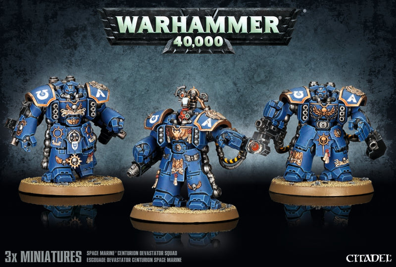 Space Marine Centurions - Warhammer: 40k - The Hooded Goblin