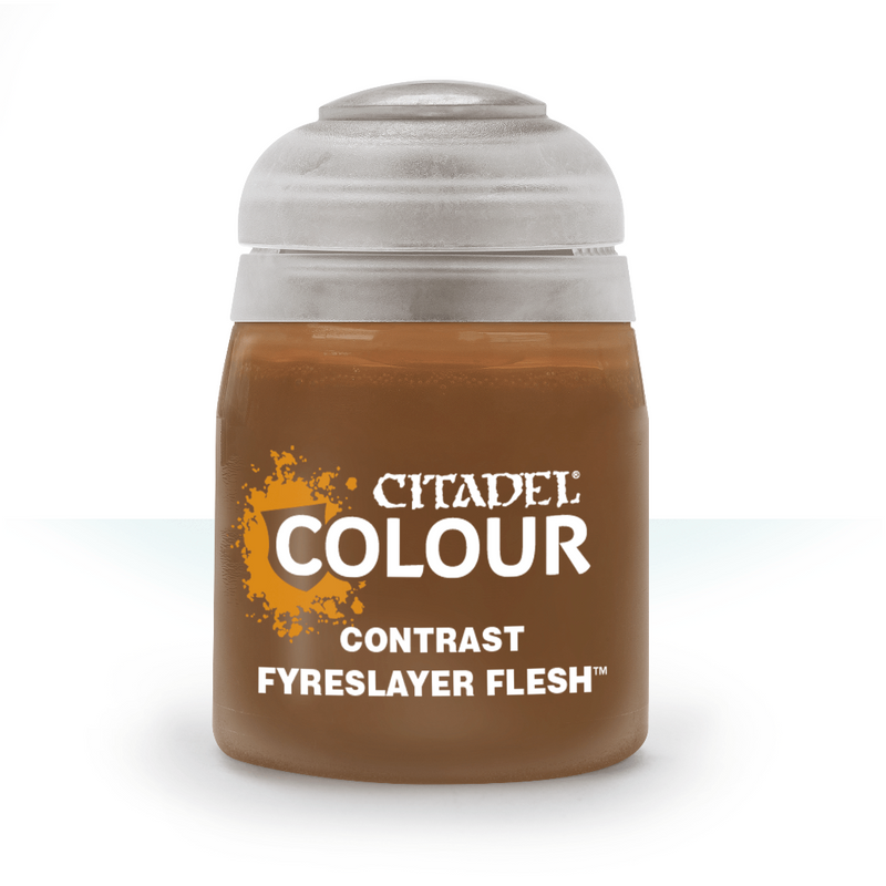 CONTRAST: FYRESLAYER FLESH (18ML) - Citadel Painting Supplies - The Hooded Goblin