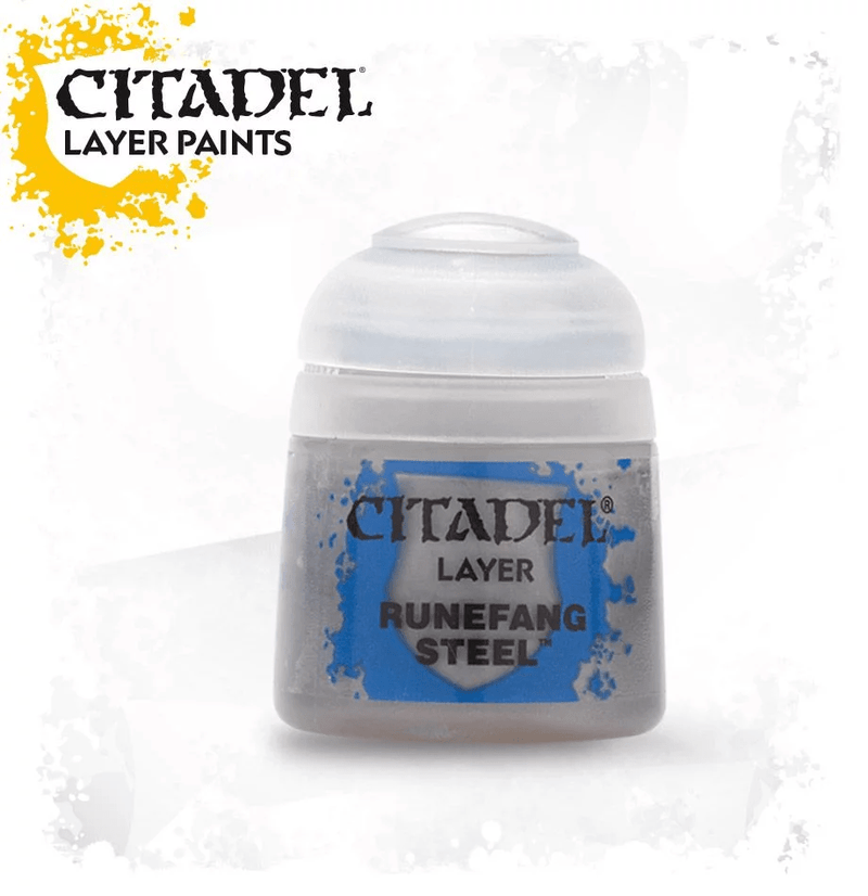Citadel Layer: Runefang Steel - Citadel Painting Supplies - The Hooded Goblin