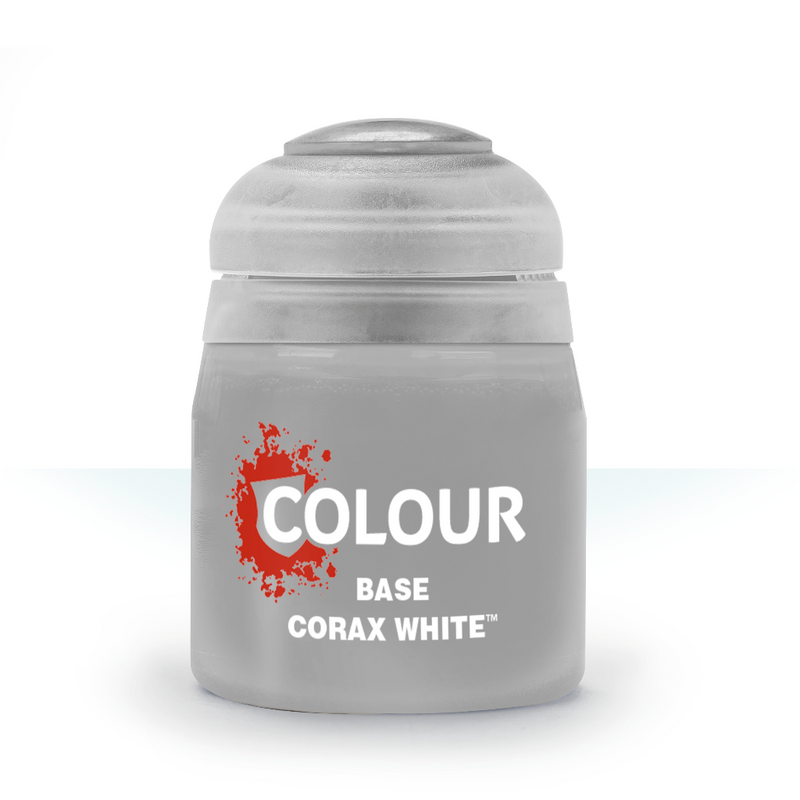 Base: Corax White (12Ml) - Citadel Painting Supplies - The Hooded Goblin