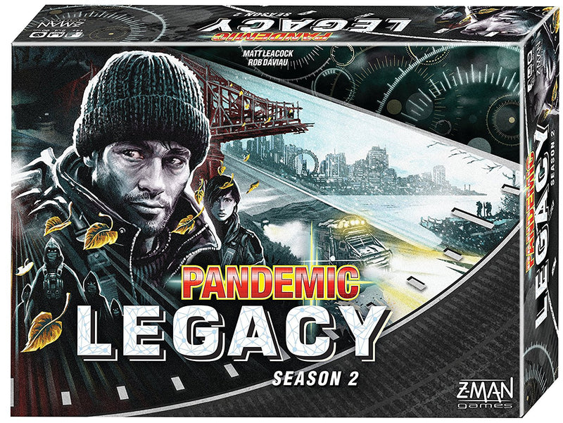 Pandemic Legacy: Season 2, Black Edition - Board Game - The Hooded Goblin