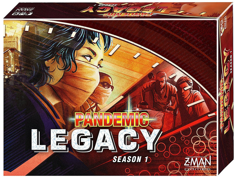 Pandemic Legacy Season 1, Red Edition - Board Game - The Hooded Goblin