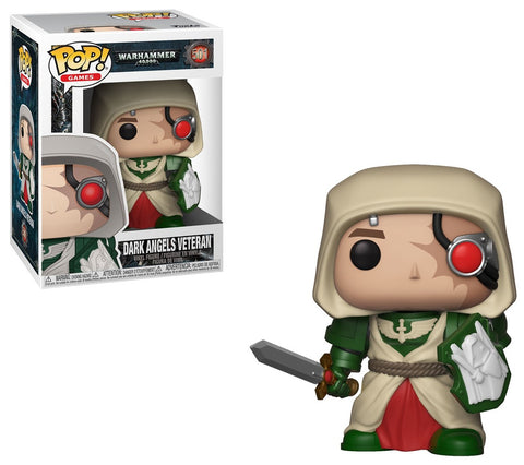 Warhammer 40K Funko POP! Games Dark Angels Veteran Vinyl Figure