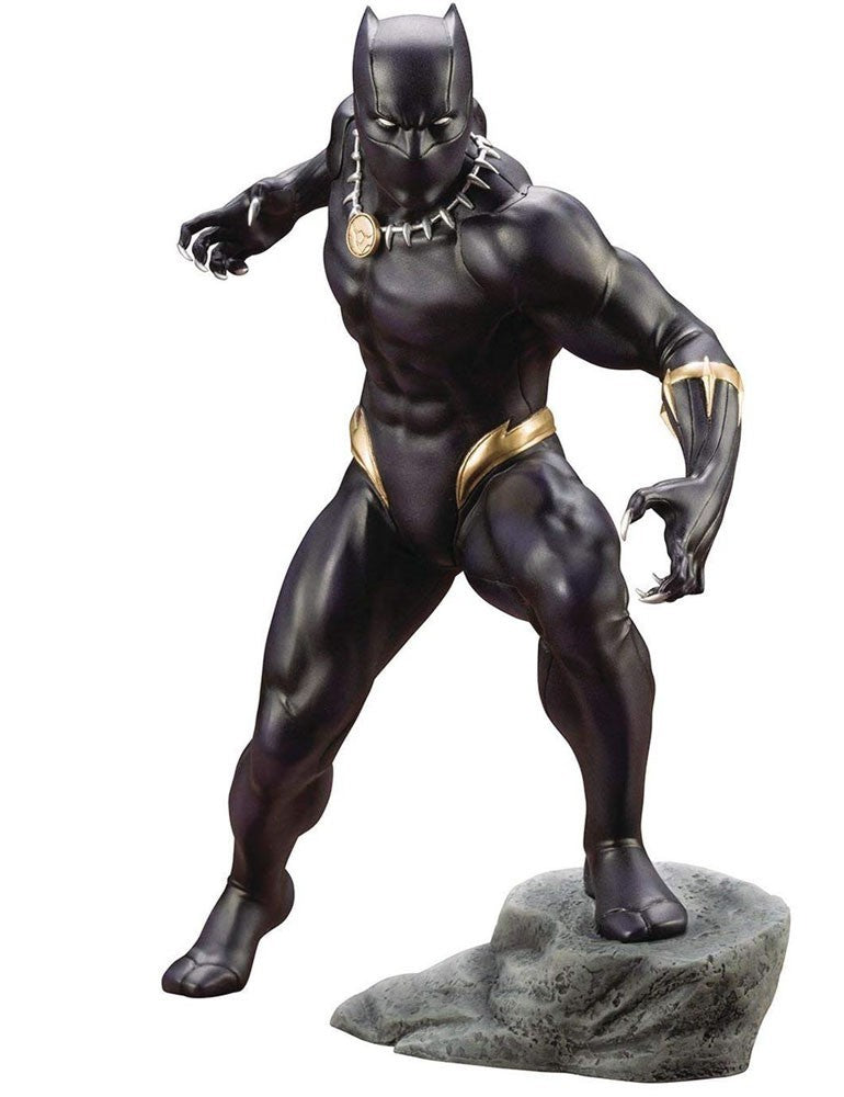 Marvel Avengers ArtFX+ Black Panther Statue [Comic Version] - Statue - The Hooded Goblin