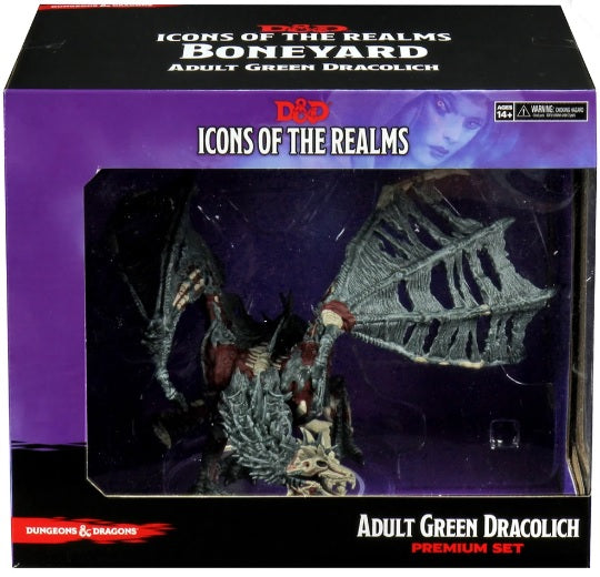 Icon of the Realms 18: Adult Green Dracolich