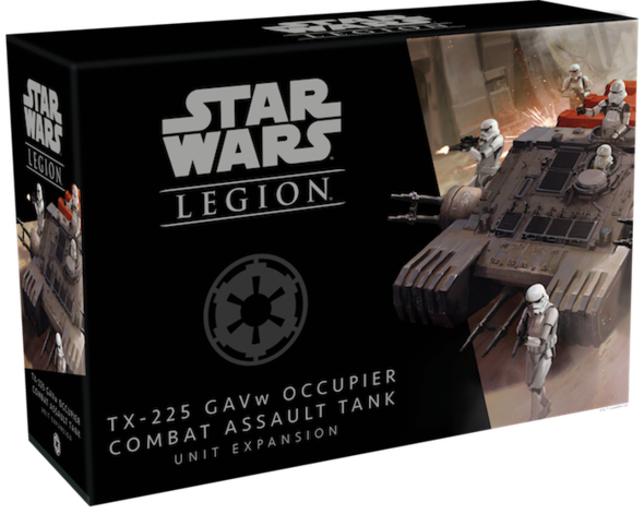 Star Wars: Legion - Tx-225 Gavw Occupier Combat Assault Tank Unit Expansion - Star Wars Legion - The Hooded Goblin