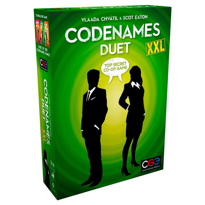 Codenames Duet Xxl - Board Game - The Hooded Goblin