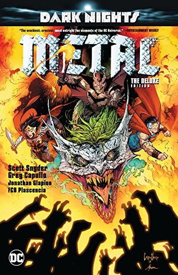 Dark Nights: Metal: Deluxe Edition Hardcover - Graphic Novel - The Hooded Goblin