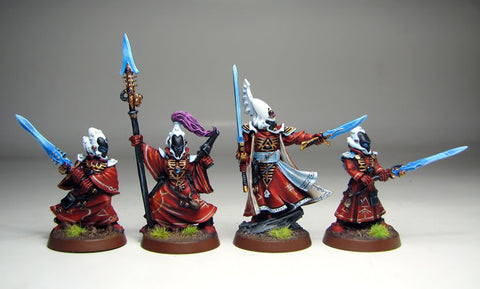 Farseer and Warlocks