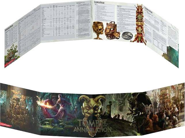Dungeons & Dragons - 5Th Edition - Dungeon Master'S Screen - Tomb Of Annihilation - Roleplaying Games - The Hooded Goblin