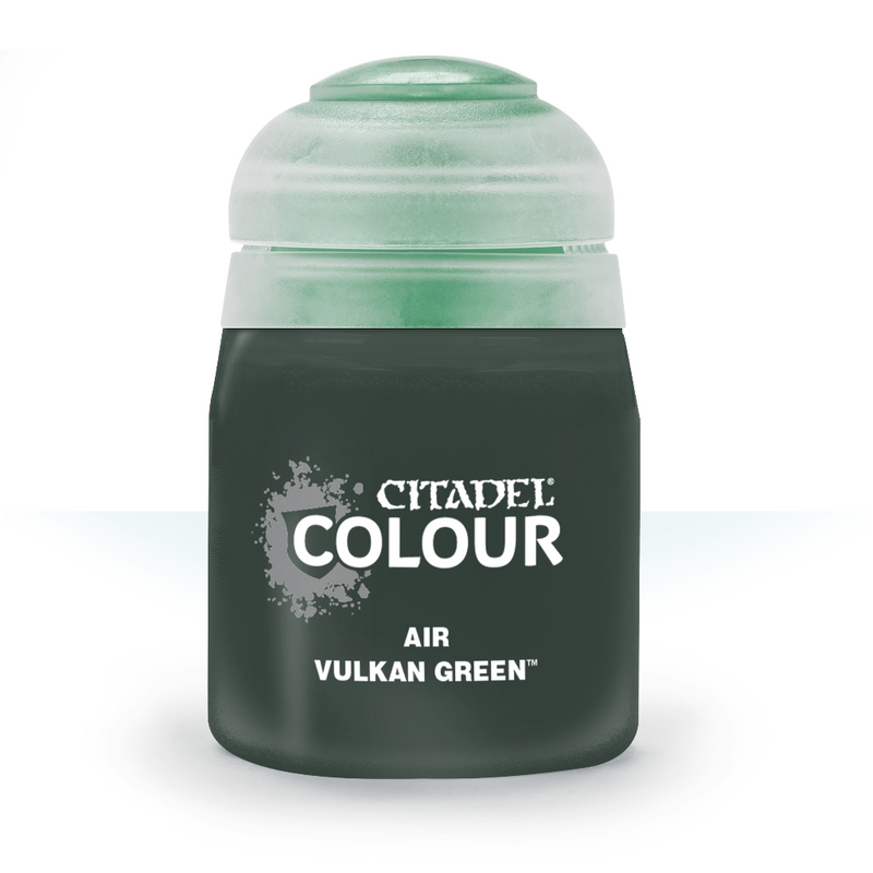 Air: Vulkan Green (24Ml) - Citadel Painting Supplies - The Hooded Goblin
