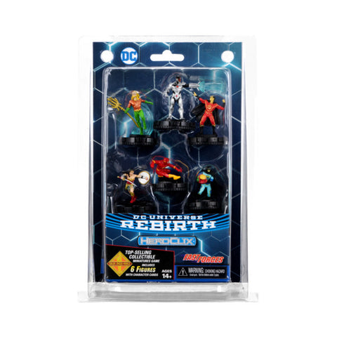 HEROCLIX FAST FORCES - DC REBIRTH