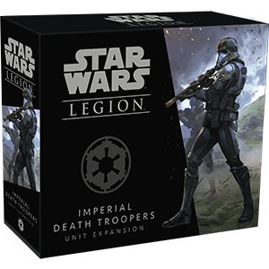 STAR WARS: LEGION - IMPERIAL DEATH TROOPER UNIT EXPANSION