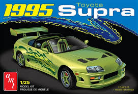 AMT 1995 Toyota Supra 1:25 Scale Model Kit - Model Kit - The Hooded Goblin