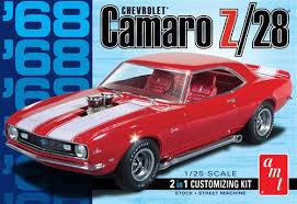 AMT 1968 Camaro Z/28 1:25 Scale Model Kit - Model Kit - The Hooded Goblin