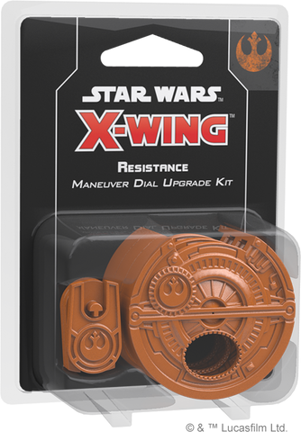 STAR WARS: X-WING - SECOND EDITION - RESISTANCE MANEUVER DIAL KIT