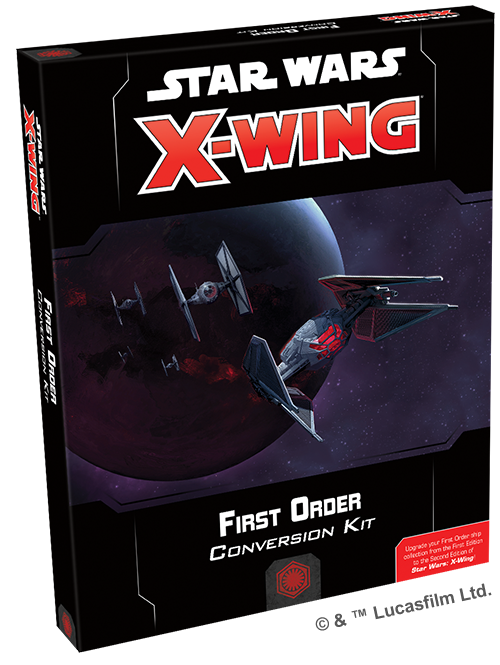 STAR WARS: X-WING - SECOND EDITION - FIRST ORDER CONVERSION KIT - X-Wing - The Hooded Goblin