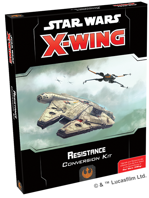 Star Wars: X-Wing - Second Edition - Resistance Conversion Kit - X-Wing - The Hooded Goblin