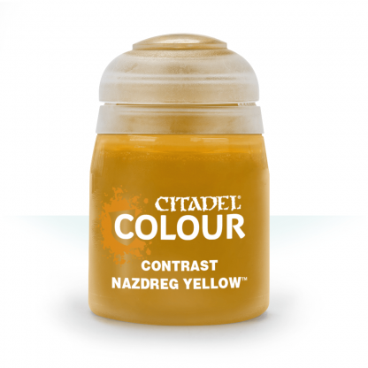 CONTRAST: NAZDREG YELLOW (18ML) - Citadel Painting Supplies - The Hooded Goblin