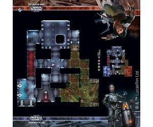 STAR WARS IMPERIAL ASSAULT - SKIRMISH MAP -TARKIN INITIATIVE LABS