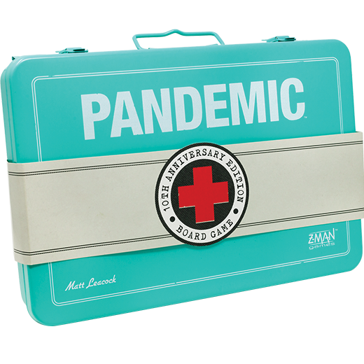 Pandemic: 10Th Anniversary Edition - Board Game - The Hooded Goblin