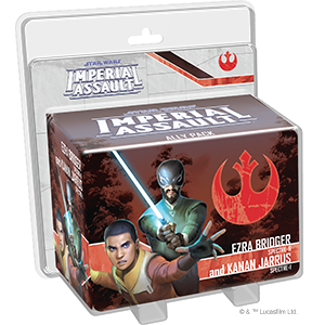 STAR WARS IMPERIAL ASSAULT - EZRA BRIDGER AND KANAN JARRUS ALLY PACK