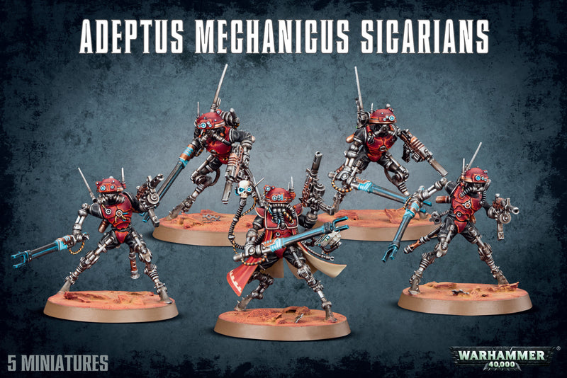 Sicarians - Warhammer: 40k - The Hooded Goblin