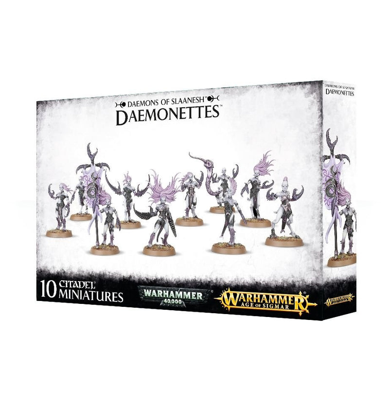 Daemonettes of Slaanesh - Warhammer: Age of Sigmar - The Hooded Goblin