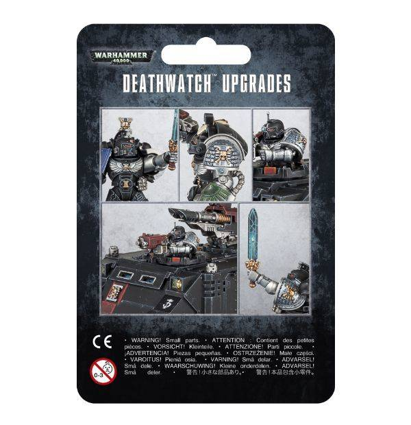 Deathwatch Upgrade Frame - Warhammer: 40k - The Hooded Goblin