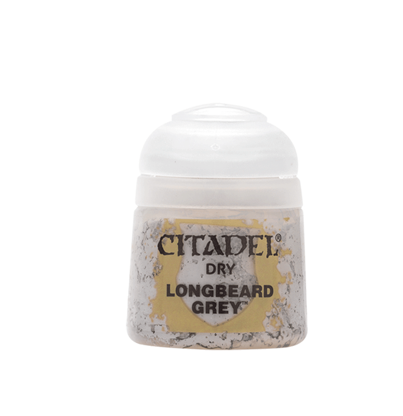 Longbeard Grey - Citadel Painting Supplies - The Hooded Goblin