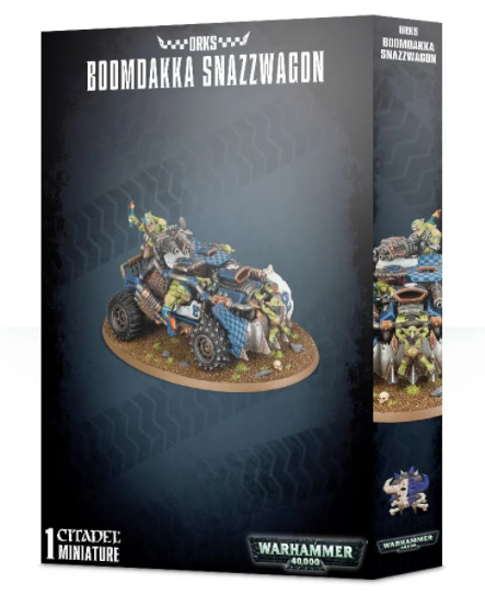 Boomdakka Snazzwagon - Warhammer: 40k - The Hooded Goblin