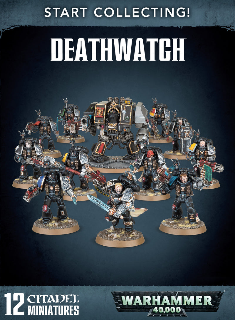 Start Collecting! Deathwatch - Warhammer: 40k - The Hooded Goblin
