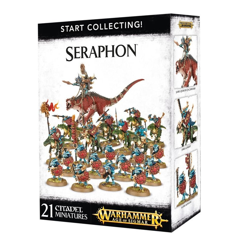 Start Collecting! Seraphon - Warhammer: Age of Sigmar - The Hooded Goblin
