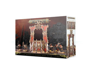 Blades of Khorne Skull Altar - Warhammer: Age of Sigmar - The Hooded Goblin