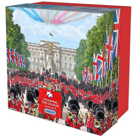Trooping The Colour - 500pc Jigsaw Puzzle by Gibson