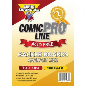 Comic book 28 pt Backing boards
