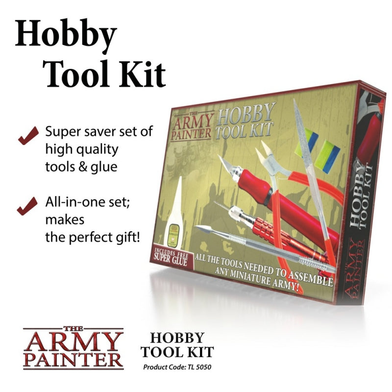 The Army Painter Wargames Hobby Tool Kit - Hobby Supplies - The Hooded Goblin