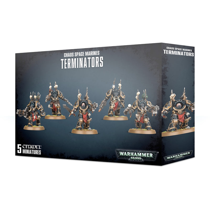 Chaos Space Marines Terminators - Warhammer: 40k - The Hooded Goblin
